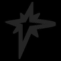 Icono gráfico de estrella