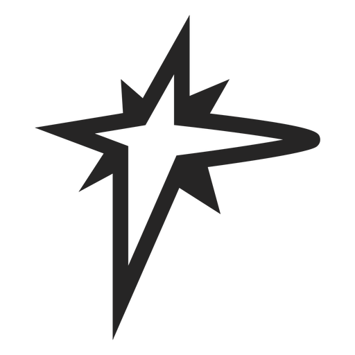 Star graphic icon Transparent PNG