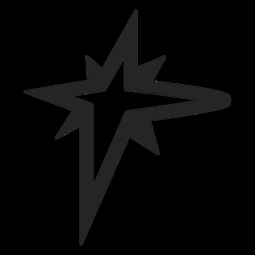 Sterngrafik-Symbol Transparent PNG
