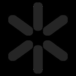 Ícone da ideia do símbolo