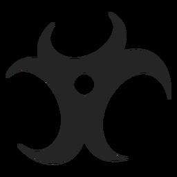 Ícone tribal abstrato
