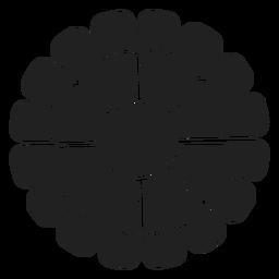 Gänseblümchen-Blumenikone Blume
