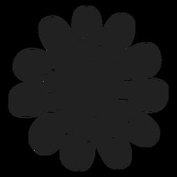Vector de la flor de la margarita