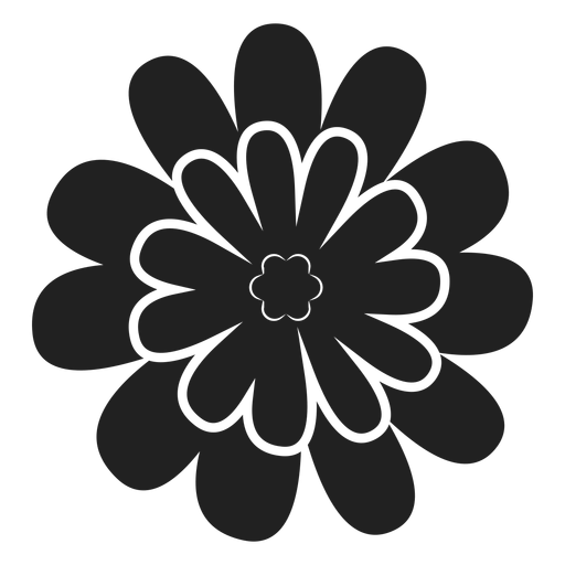 Daisy flower vector Transparent PNG