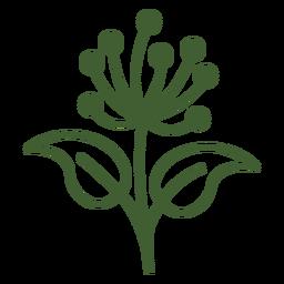 Icono de flor de diente de león