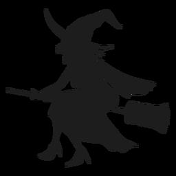 Ícone de bruxa detalhada