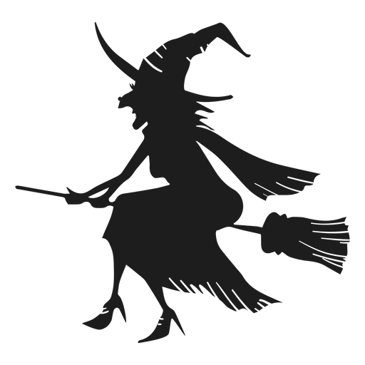 Detailed witch icon Transparent PNG