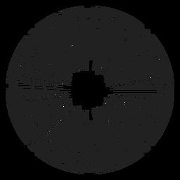 Icono de la flor del ramo de eneldo