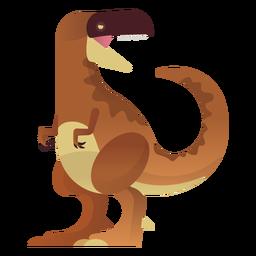 Dinosaurio t rex vector