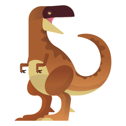 Dinosaurio t rex vector Transparent PNG