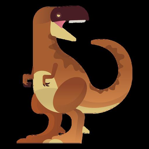 Vetor de dinossauro t rex Transparent PNG