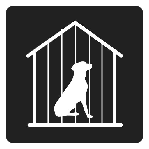 Dog cage square icons Transparent PNG