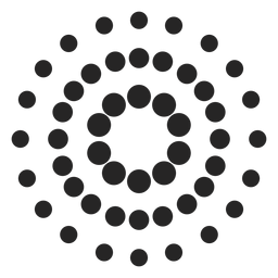 Pontilhado, patterned, ícone