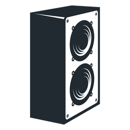 Doppelte Lautsprecher-Symbol