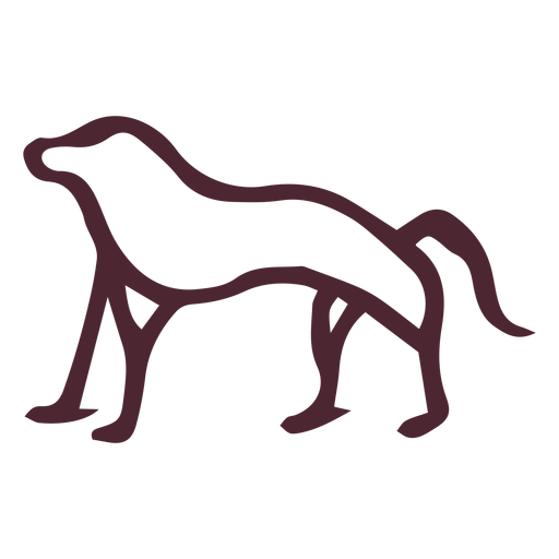 Egyptian ancient baboon hieroglyphics symbol Transparent PNG