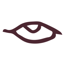 Símbolo de ojo antiguo egipcio