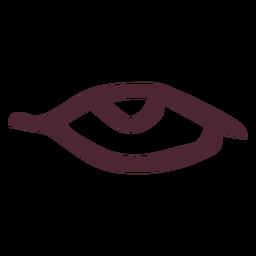 Símbolo egípcio antigo olho