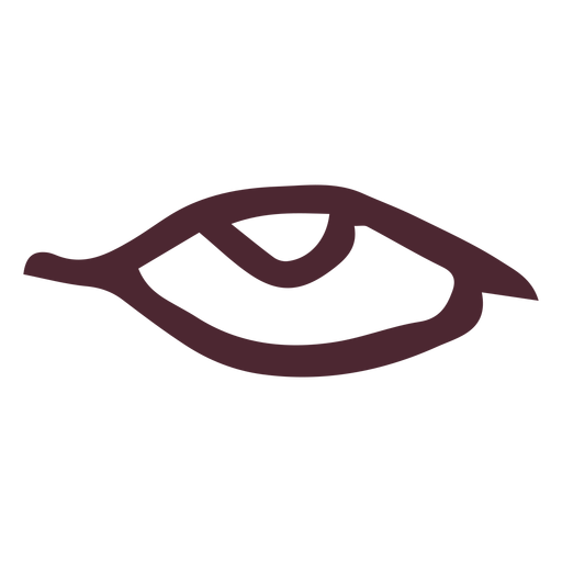 Egyptian ancient eye symbol Transparent PNG