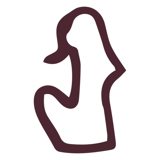 Antiguo símbolo jeroglífico egipcio Transparent PNG