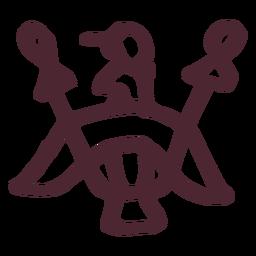 Antiguo símbolo egipcio