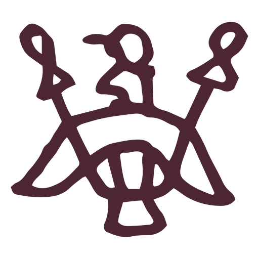 Antiguo símbolo egipcio Transparent PNG
