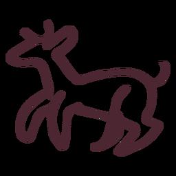 Símbolo de hieróglifos animais egípcios