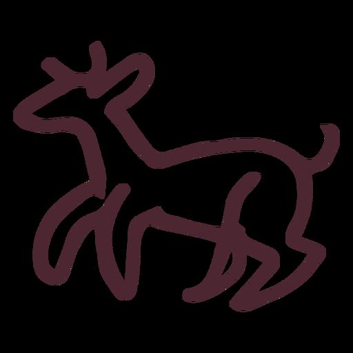 Egyptian animal hieroglyphs symbol