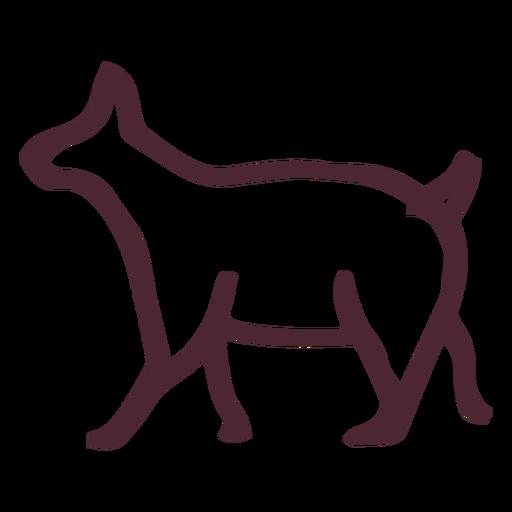 Egyptian animal traditional symbol