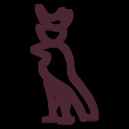 Ägyptisches Vogelhieroglyphensymbol