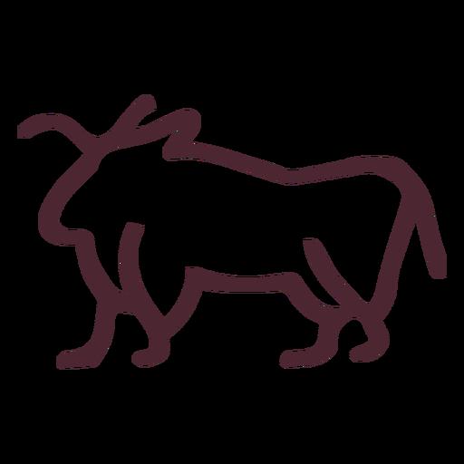 Simbolos de toros egipcios Transparent PNG