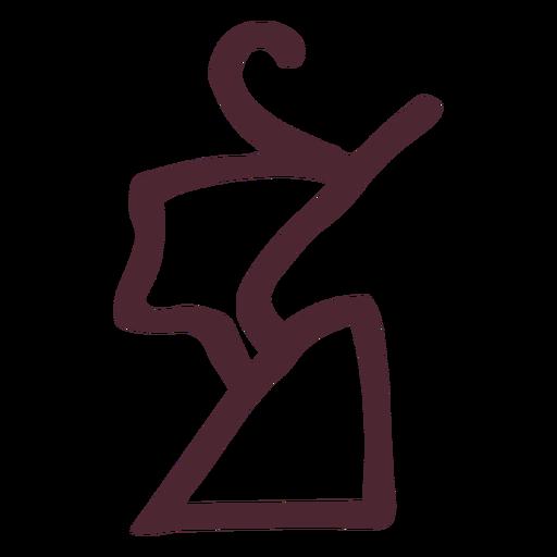 Egyptian crown hieroglyphics symbol Transparent PNG
