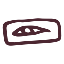 Egyptian eye of horus symbol