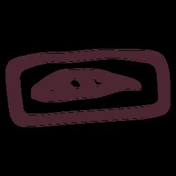 Símbolo de ojo de horus egipcio