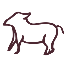 Símbolo animal hieróglifos egípcios