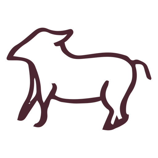 Egyptian hieroglyphics animal symbol Transparent PNG