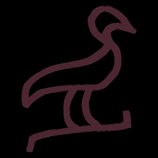 Egyptian hieroglyphics symbol