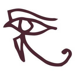 Egyptian the eye of horus symbol
