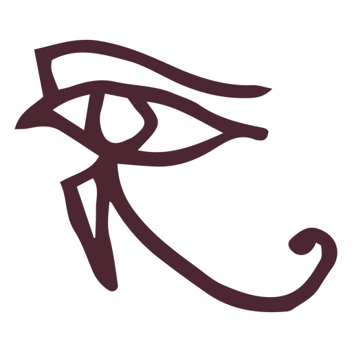 Egyptian the eye of horus symbol Transparent PNG