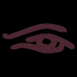 Ägypter das Auge des Horussymbolsymbols