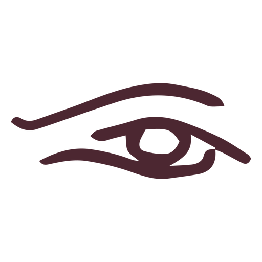 Egyptian the eye of horus symbol symbol Transparent PNG