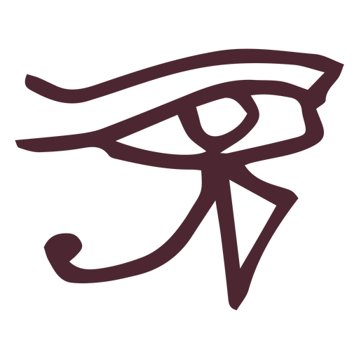 Egyptian the eye of ra symbol Transparent PNG