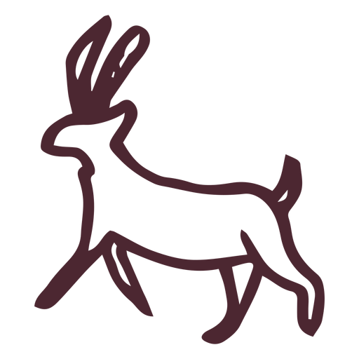 Egyptian traditional animal symbol Transparent PNG