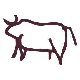 Egyptian traditional bull symbol