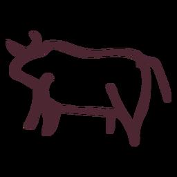 Símbolo de touro tradicional egípcio