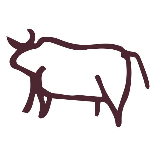 Egyptian traditional bull symbol Transparent PNG