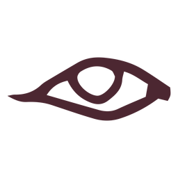 Egyptian traditional eye symbol