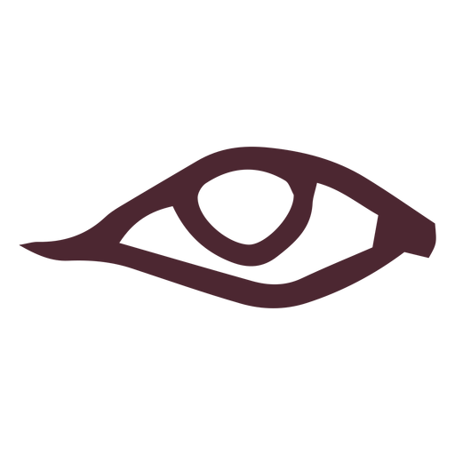 Egyptian traditional eye symbol Transparent PNG