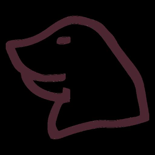 Egyptian traditional hippopotamus head symbols Transparent PNG