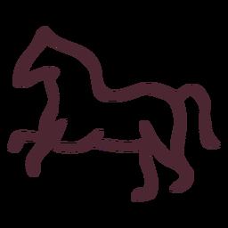 Símbolo de caballo tradicional egipcio símbolo