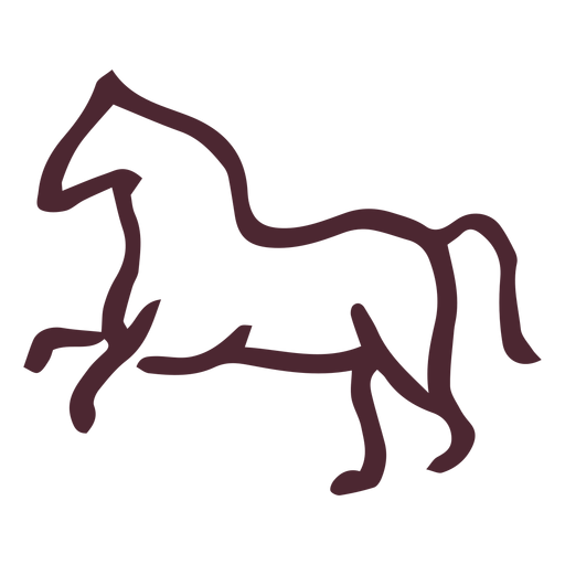 Egyptian traditional horse symbol symbol Transparent PNG